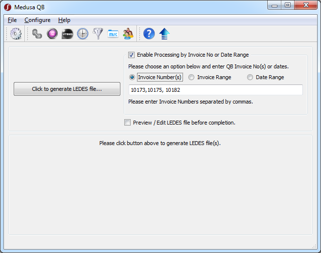 QuickBooks to LEDES Converter Software